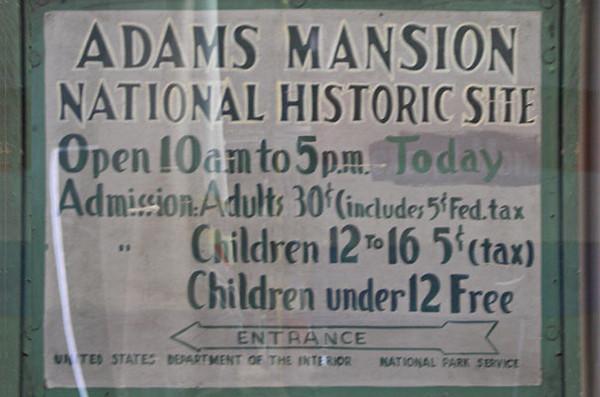 John Adams Historical Park, Quincy Massachusetts