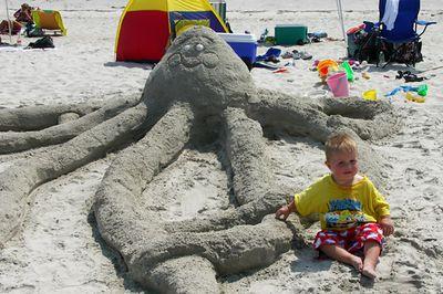 Sand Sculpture Contest, Ipswich