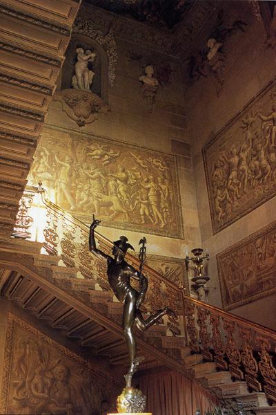 Chatsworth interior, Derbyshire, England